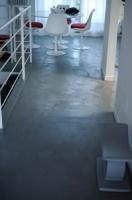 cemento spatolato soggiorno 5