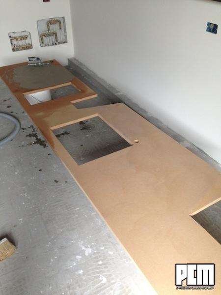 Pavimenti cemento categoria mobili e cucine foto - Top cucina in cemento ...